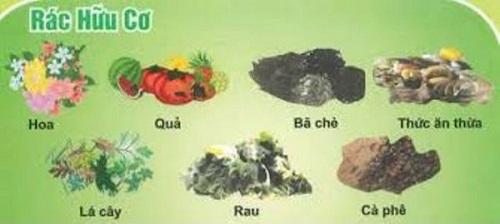 phân loại rác thải