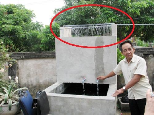 giàn phun lọc nước