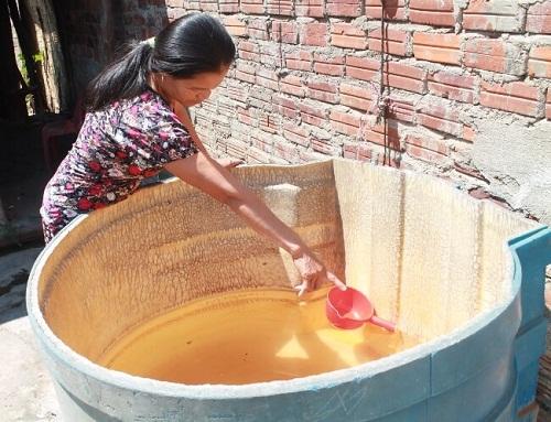 xây bể lọc nước